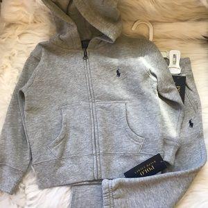 Ralph Lauren Gray jogging suit